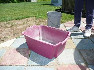 Improvised Planter Tub