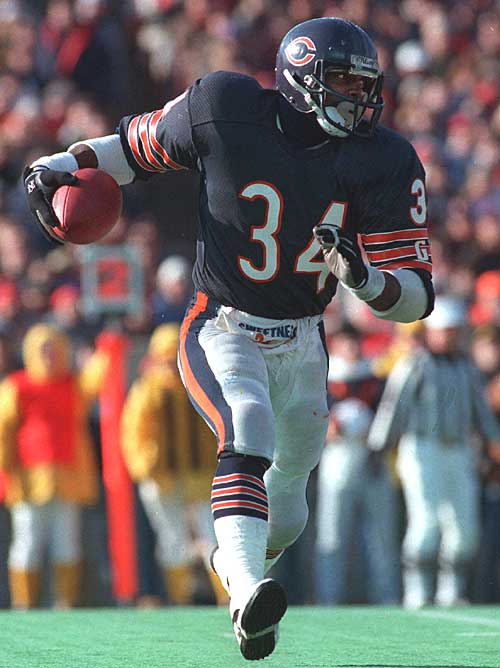They called him Sweetness but Walter Payton ran with anger.