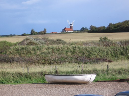 A lonesome boat, somewhere near Weybourne beach, near Kelling