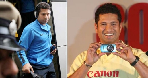 Tech Savy Sachin Tendulkar  Rare Photos