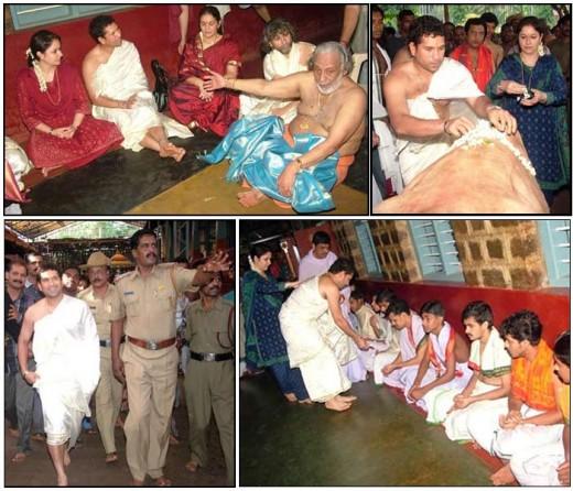 Religious Sachin Tendulkar  Rare Photos