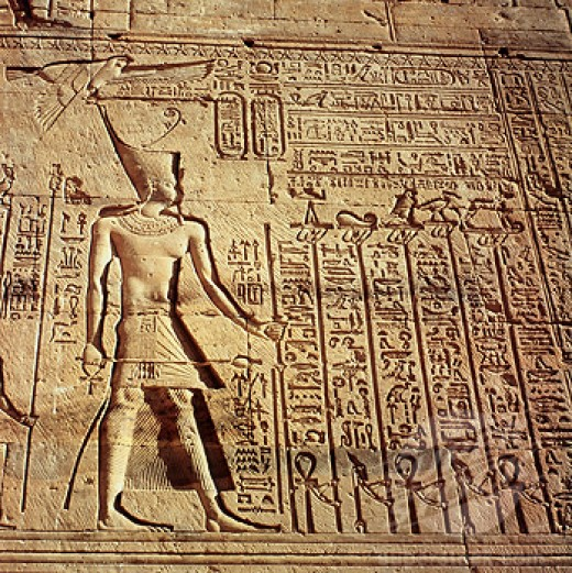 The Egyptian left a record that we have deciphered as one point of view in history besides parallels like the Biblical account.