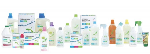 wide range of Ecover cleaning eco products and natural cleaners