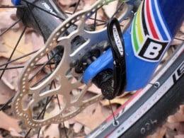Front disk brake