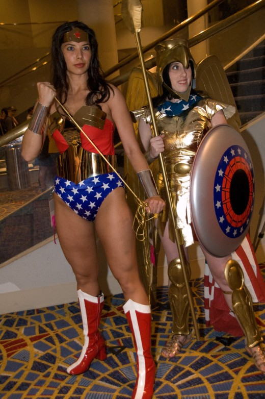 Wonder Woman at Dragon Con.  Source: Flickr, MargieC1022