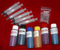 Bulk ink refill kit
