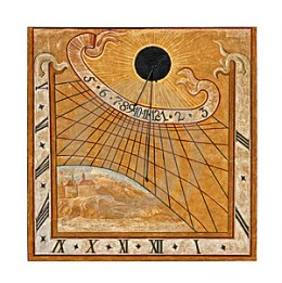 Though in the midst of the dark ages, Medieval Europe did have sun dials in places like churches