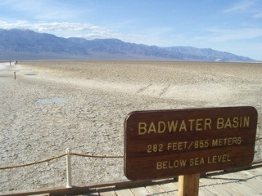 Badwater Basin, Death Valley / Photo by E. A. Wright