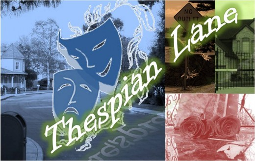 Thespian Lane Logo (A collage of google images)