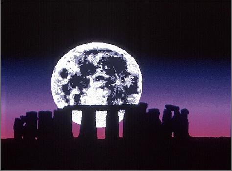 The beautiful and power-raising Stonehenge.