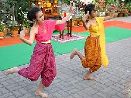 Thailand traditional dance swp.in.th