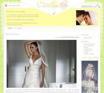 Wedding WordPress Theme Free