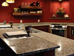 While engineered stone does not totally capture the dynamic veined and grain patterned look of granite, there are many mock-granite varieties.