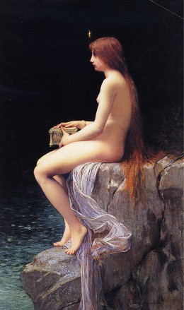 Jules Joseph Lefebvre, Pandora, 1882