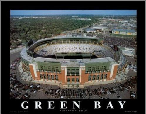 NFL's Green Bay Packers. One of the main attractions.