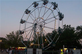 The Ferris Wheel was introduced to the park in 1952.