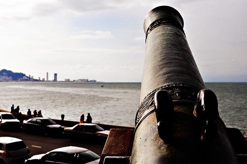 Fort Cornwallis cannon