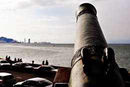 Fort Cornwallis cannon