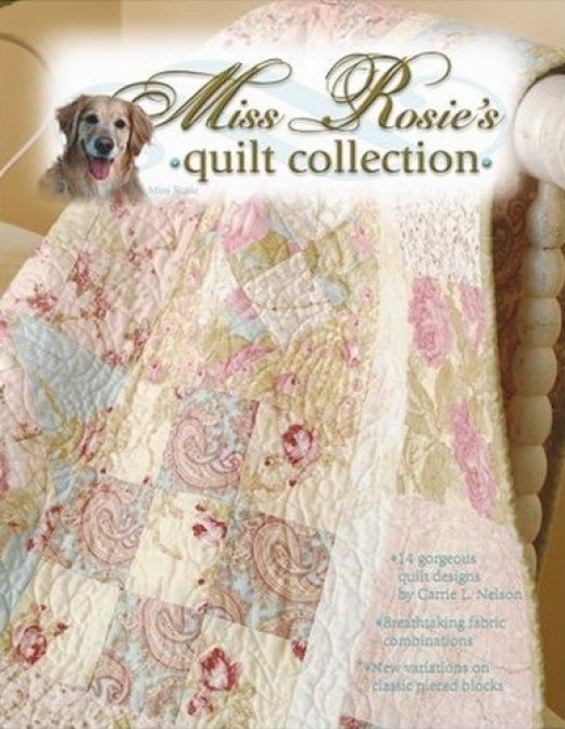 Miss Rosie's Quilt Collection, Book Cover.