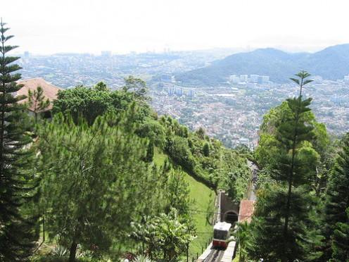 View atop Penang Hill