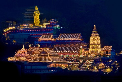 Kek Lok Si Temple night view
