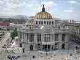 Bellas Artes Mexico City is sinking