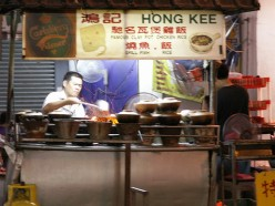 Street food is delicious and cheap