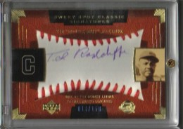 Double Duty Radcliffe signed sweet spot card #'d to 150.