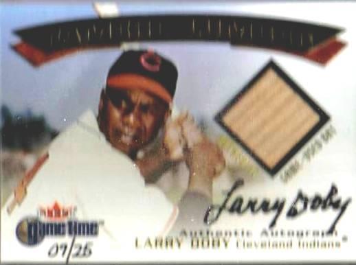 Larry Doby card.