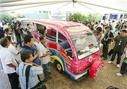 Launching of the Electric Jeepney