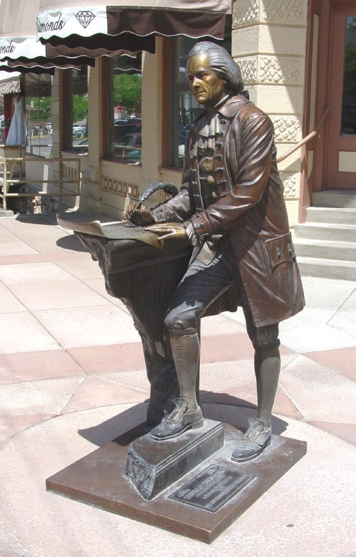 STATUE OF THOMAS JEFFERSON IN RAPID CITY