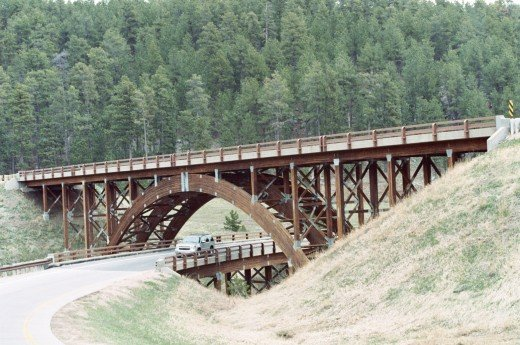 RAILROAD BRIDGE IN BLACK HILLS