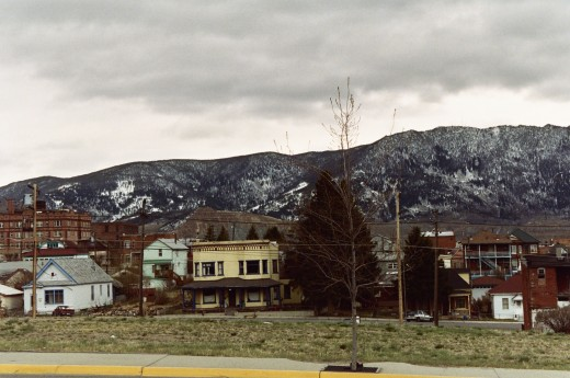 HISTORIC UPTOWN DISTRICT OF BUTTE MONTANA