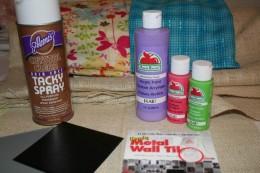 Tacky Spray Adhesive, Metal Wall Tiles, Apple Barrel Craft Paint