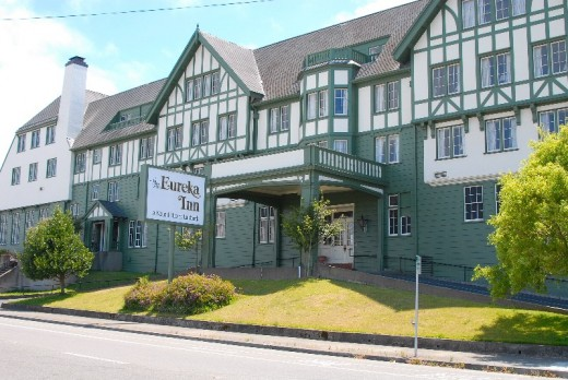 The historic Eureka Inn, Humboldt County, California, Re-Opening in Summer 2010