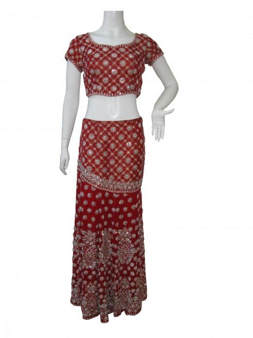 Bridal Ghagra Choli Design
