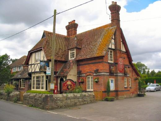 The Pub where we had lunch at daily.Lockeridge, Uk.