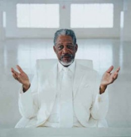 Do you believe in Morgan Freeman?