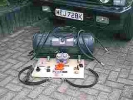 LPG complete conversion kit including tank.