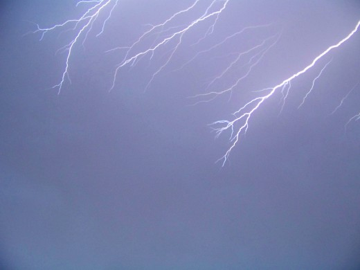 With forks in every direction, the awesome electrifying bolts of lightning will never be forgotten
