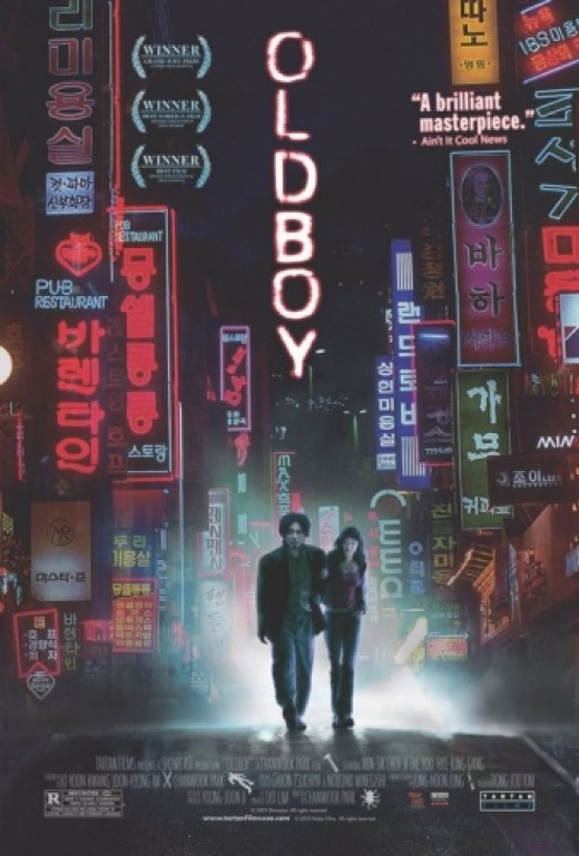 Oldboy (2003)  - Anime Live-Action