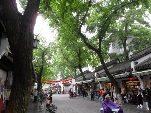 Street scene in Silk Market