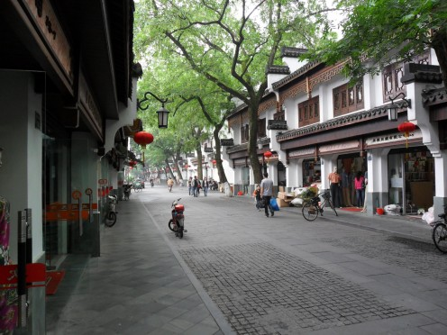 Street in Silk Market.