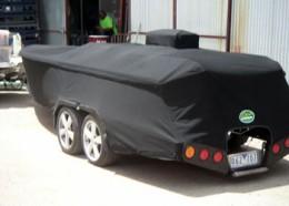 Custom Sunbrella Boat Cover