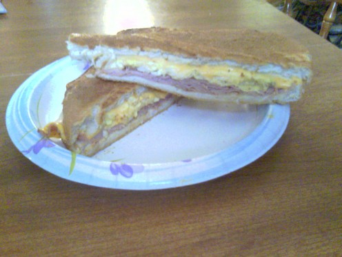 Ihop for pancakes but the best Ham & Egg is Homemade and Cuban!
