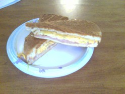In the morning, a cup of coffee is all you need to add. The Cuban breakfast sandwich is good 24/7!