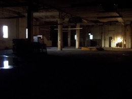 Indoor CQB warehouse, sneak up and engage the opponents with an AEP