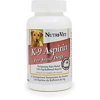 Nutri-Vet Nutritionals K-9 Aspirin $6.97