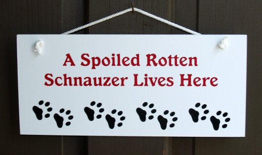 sign on front door