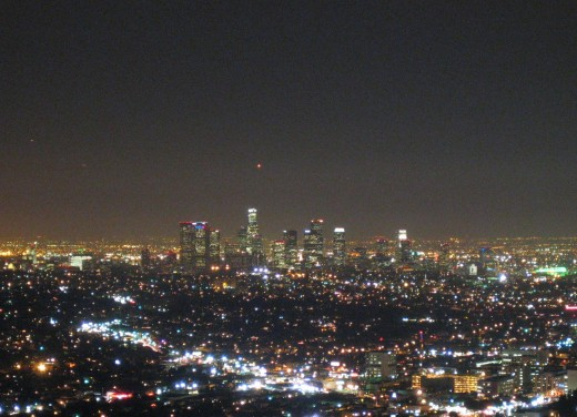 Los Angeles at Night. Photo source: Wikimedia Commons
